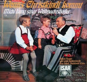 For a traditional German Christmas album, there are so many options for a cover. I mean they could've used Saint Nicholas giving sweets to children or a rustic village in the snow. Why they chose Grandpa making children cry, I have no idea.