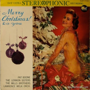 Even more ironic is that this album features artists such as Pat Boone, the Lennon Sisters, the Mills Brothers, and the Lawrence Welk Orchestra. These artists weren't exactly people you'd expect on an album with such a provocative cover.