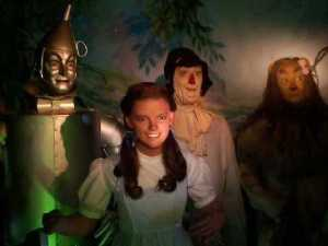 Well, to be fair, The Wizard of Oz has managed to traumatize a lot of kids even without the dark lighting. Nevertheless, I don't suspect that Dorothy just wants to go home. And I wouldn't want to be around the Scarecrow or Tinman either.