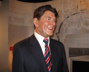 Sure as a liberal I'm not a big fan of Reagan at all. However, even so, I don't think this wax work seems to capture his warm personality that got a lot of idiots to vote for him. Seriously, he seems like he's had a few face lifts and a spray tan.