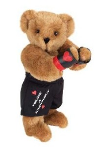 Sadly, Muhpawmad Ali was retired by the Vermont Teddy Bear Company after he converted to Islam and refused to be drafted to Vietnam. Oh, wait that's a different boxer.