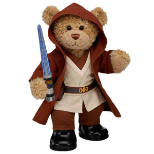 Of course, they do have Star Wars Build-a-Bear clothes and accessories on its website. And no, this isn't an Ewok. Still, I have to put a Star Wars reference in the post somewhere.