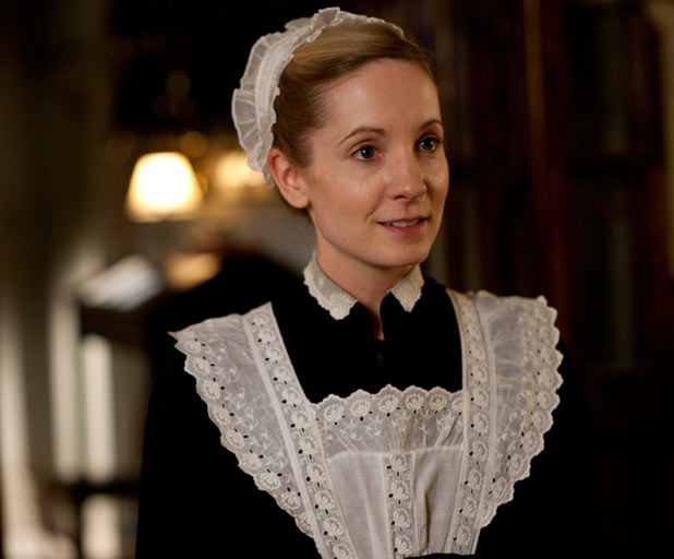 The Domestic Servants of Downton Abbey Part 4-The Maids  The Lone Girl in  a Crowd