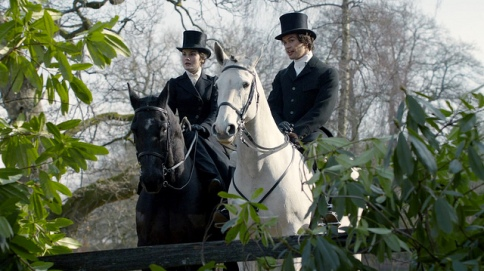 Horse: At Downton Abbey, this animal has been relegated to recreational and ceremonial purposes since the introduction of the automobile. So now let's just get back to Lady Mary and Kemal Pamuk on their hunting ride, shall we?
