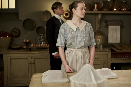Kitchen Maid: At Downton Abbey, this is the job an aspiring Assistant Cook wants filled so badly unless it's by a girl who steals  the heart of the footman of her affections. Likes to attract guys but isn't interested in anything serious. Will take the first promotion opportunity she could get, even if it means leaving the country.