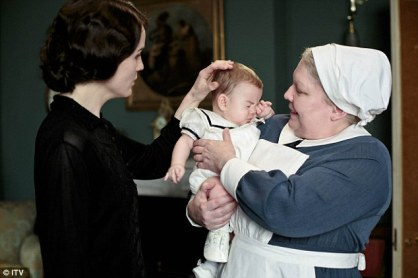 "Nanny: At Downton Abbey, this is the job you give the elderly woman who's a bossy control freak with family visitations as well as willing to bully and starve a two-year-old girl for being a ""chauffeur's daughter"" and ""wicked little cross-breed."" Turns out the spiteful under butler was inadvertently right."
