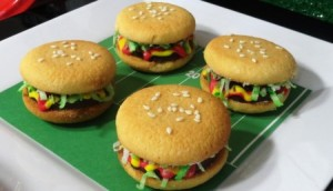Sure these cookie and cream replicants don't exactly resemble cheeseburgers, but I'll have them. Besides, they're probably better for you than a Big Mac or a Whopper.