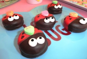 Yes, these lady bug cookies with candy on them are adorable. Also, it's possible that some of these can be guys despite the name.