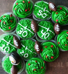 Warning: green icing may cause your guests to sport green lips, which are much more appropriate for Saint Patrick's Day.
