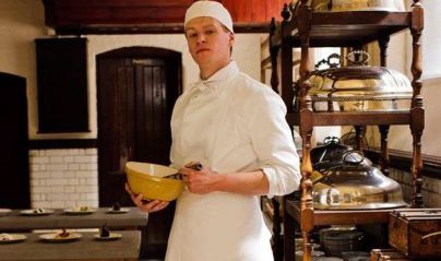 Chef/Man-Cook: At Downton Abbey, this is the job a lady's maid's nephew aspires to be even though he's just a second footman. Still, gets his chance to train at the Ritz Hotel through hard work and sheer luck in Season 4.