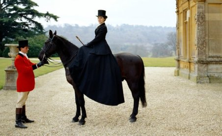 Groom: At Downton Abbey, this job goes to a guy who probably doesn't have much screen time. But he's there because his main job is taking care of the horses and that he had to bring one out to match Lady Mary's riding habit.
