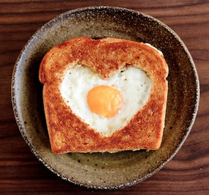 "Or as the English call it, ""Toad in a Hole"" or ""Egg in a Basket."" Still, I'm sure someone would love this even if a child doesn't."