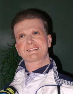 Hey, I didn't know they had a wax rendition of Olympic athlete Bruce Jenner from Keeping Up with the Kardashians. They even nailed his plastic surgery disaster, well, somewhat.