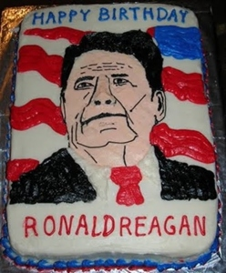 Now I am not a fan of Ronald Reagan and don't think of him as a great president (in truth I view him as quite the opposite). However, I understand that many Republicans view him on the same level of Jesus for some reason. Nevertheless, even if you know a Republican who has a birthday, you probably want to keep politics out of it. Seriously, such subject can really ruin a party.