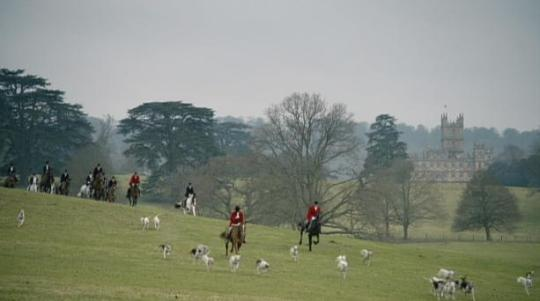 The Hunt: At Downton Abbey, this is an event in which the Granthams and a lot of rich folks load up their guns, saddle up on horseback,  and ride on wit the dogs to shoot some prized game. Not sure if any of them get wasted before then but there's a lot of comedy sketches that play off the alcohol bit.