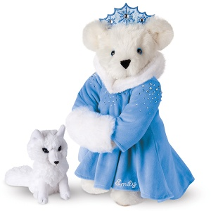 Sure this may not be Elsa from Frozen, but it's not like little girls will no the difference, at least at first. Still, in her icy domain, she's just so adorable in that little blue dress and crown as well as her furry muff.