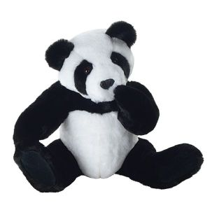 Of course, real Giant Pandas are an endangered species due to habitat loss and a low birthrate (pandas only mate once a year). Still, baby pandas born in zoos usually make the news at six.