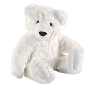 Of course, polar bears rely on the Arctic sea ice so much that they're now an increasingly at risk for becoming a casualty of global warming (which is real and manmade by the way, sorry, climate denying assholes). Still, this is just so adorable you'd want to take it home and name it Nappy.