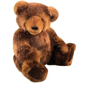 Though you might think this is cute and cuddly, remember that you don't want to be anywhere near a real Grizzly Bear, especially in front of a mother and her cubs. Any guy who messes with a Mama Grizzly or her cubs is a dead man to say the least.