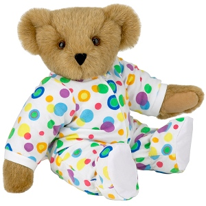 Of course, this Teddy bear might be for babies since it has cute little footie pajamas. Nevertheless, this is something any little kid could love and want to go to bed with.
