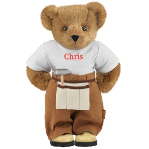 Yes, this little handybear doesn't fix stuff with a pencil or rule. He's just handy with love and he's no fool. He just fixes broken hearts because he knows he surely can.