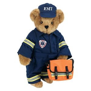 Of course, if anyone found a bear trying to resuscitate them in the ambulance (or driving one), most would pass out from shock. This is where the defibrillator comes in handy.