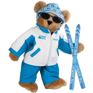 Of course, he may go try out his skies in the Rocky Mountains or at Seven Springs this year. Yet, he certainly looks so cute in his sunglasses and snow gear.