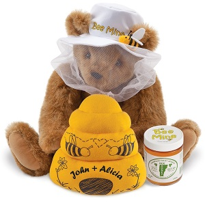 Of course, this Teddy Bear is probably the only one you can possibly trust with a hive. Seriously, real bears rip these places apart for the honey.