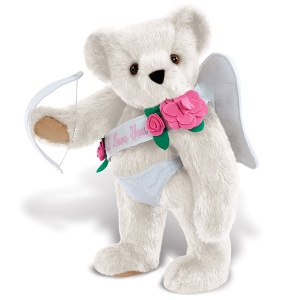 Of course, unlike the popular chubby winged baby images, Cupid in Classical mythology was a handsome young man barely out of his teens. Then again, I wonder if there's a Teddy Bear of Pysche.