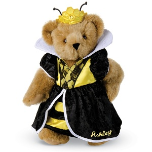 She may be bossy but you have to love her beehive crown as well as black and yellow dress. I mean she's so cute that she might as well be sweet as honey. Yet, she may sting.