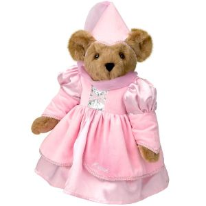 Now despite being a beary princess, you'd probably wouldn't want to lock her in a tower. Seriously, bears don't take it well. Nevertheless, I love that pretty pink dress.
