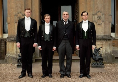 Footman: At Downton Abbey, this is the job you give to men that are: complete assholes, kind-hearted cannon fodder, culinary aspiring nephews of lady's maids, guys fleeing the unwanted attentions of a female boss, and ex-valets desperate for employment after their boss suddenly died in a car accident on the way home from the hospital.