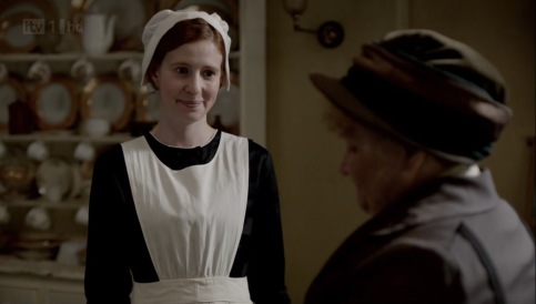 Maid of All Work: At Crawley House, this is the job you give a former Downton Abbey maid who was fired for banging a major and was forced into prostitution to support her son before the kid's handed to his paternal grandparents. Her mere presence will just make the longtime cook you've had quit. Is a terrible cook herself.