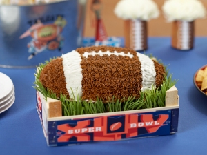 Of course, the artificial turf on this cake looks more realistic than the turf on Cougar Mountain will ever be.