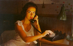 """""""Yes, Gladys, I've electrocuted Harold in the bath tub by throwing my hair dryer. So how do we dispose of his body without the neighbors suspecting?"""""""
