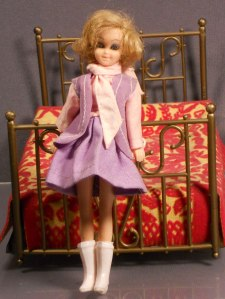 It's hard to believe that this doll is supposed to be based on the Angela Lansbury character from that 1972 movie. Bed runs on batteries. Still, kind of shows that even the folks at Disney were tripping on the brown acid a little too much. Nevertheless, I'd love to see the action figure they have for Eleanor Iselin from the Manchurian Candidate.