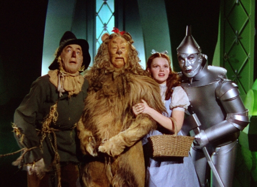 Of course, you'll always lose to Dorothy when you mess with her, John Mellencamp. I mean if you go against her, she'll always have a scarecrow, tinman, and lion to back her up. Oh, and her little dog, too.