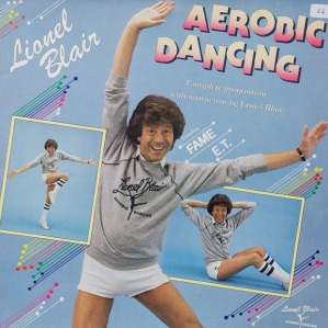 Okay, well, I've seen my mom and sister watch aerobics videos and DVDs since I was a kid and that album cover reflects why I'd just avoid them like the plague whenever I could. Just let me go for a walk or bike ride, thank you very much.