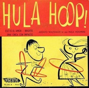 I don't know about you but hula hooping with no hands or neck is pretty impressive now that I think about it. And that guy is even using 3 of them.