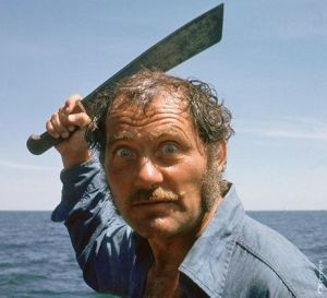 Robert Shaw was often cast as villains with his menacing mutter and intimidating demeanor. Of course, while he played a lot of characters in his short life, he's best known as Quint from Jaws.