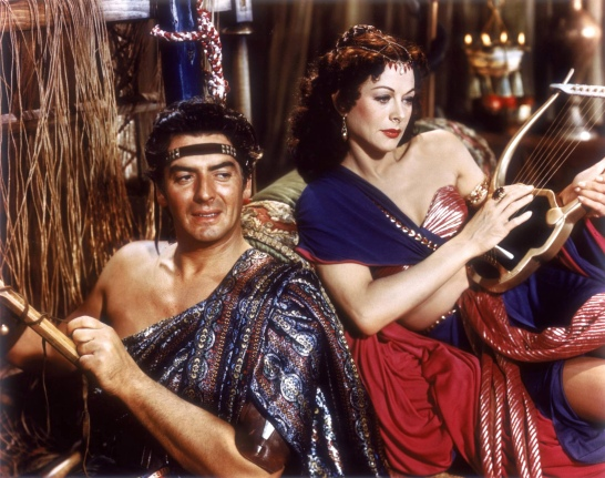 The 1950s were known as the decade Hollywood produced all these biblical epics such as Samson and Delilah, The Robe, Ben Hur, and The Ten Commandments. Of course, Cold War logic aside, these movies fared well with Hollywood since biblical subjects were deemed perfectly acceptable by the moral guardians as well as gave them the opportunity to show scantily clad actors at the same time. Not to mention, box office gold.