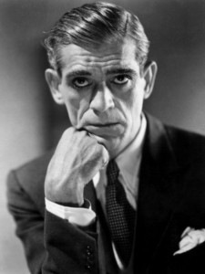 Though Boris Karloff is best known for his career in horror movies, particularly playing villains, he also did a lot of audio recordings particularly with children's stories and horror anthologies respectively.
