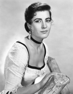 Greek actress Irene Papas starred in 70 films during her 50 year career and received international acclaim. Her dark, intense features also made her well suited for tragic roles.