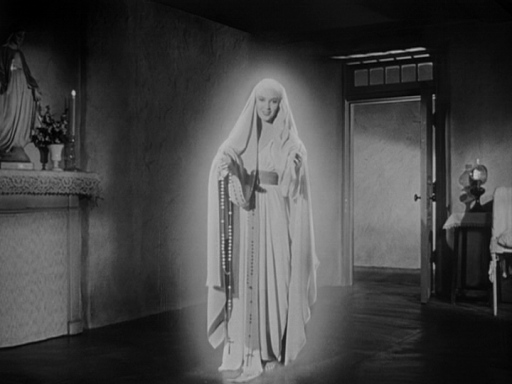 Though Linda Darnell played the Virgin Mary in The Song of Bernadette, she didn't receive credit for her role for her off-screen persona was anything but. Of course, the reason here was that the studios wanted to see her as a sex symbol and that she ran off with a much older cameraman.