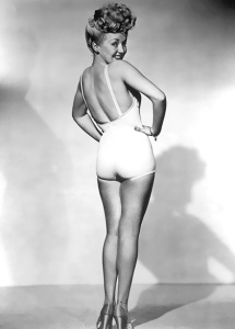 Out of all the 1940s pin-ups, none is as prolific as Betty Grable's iconic promotion photo for the movie Pin Up Girl. The film was critical flop and largely forgotten yet the picture is just pure American memorabilia.