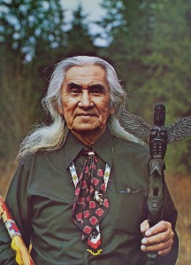 Though best known as a chief from Little Big Man and other movies, Chief Dan George was a very significant figure in Canada for working to promote better understanding between Native Americans and non-natives. He also gave speeches escalating Native American activism in the country touching widespread pro-native sentiment among non-natives.