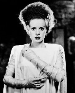 Despite playing the title character in Bride of Frankenstein, Elsa Lanchester was denied any billing or credit as the Monster's Mate which might've been due to a personality dispute. Nevertheless, her character still remains a popular Halloween costume.