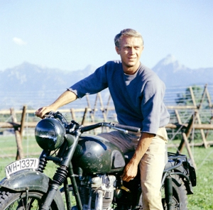 "Steve McQueen was called, ""The King of Cool"" and one of the biggest box office draws for his generation. His persona struck a cord with the counterculture of the Vietnam War era even though his movies tend to be quite violent."
