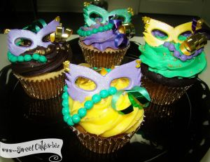 They may not be for children under 3 years old. Yet, they certainly look great for a party on Mardi Gras.