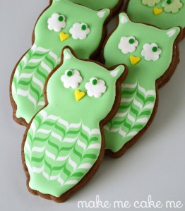 I'm not sure what significance owls have on Saint Patrick's Day yet, these are quite cute. Seriously, they're adorable and I don't care.